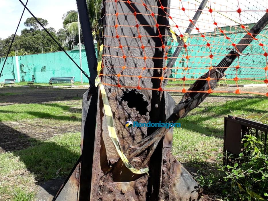 Recuperação de monumento histórico corroído por urina ainda não tem data para começar em Porto Velho