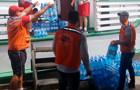 """Defesa Civil recebe doações de cestas básicas e água mineral arrecadadas com recursos do projeto """"Criando Laços"""""""