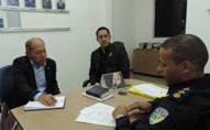Coronel Chrisostomo empenha apoio para a construção do 5º Batalhão da Policia Militar na Capital