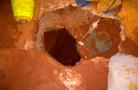 Em Cacoal, 14 fogem de presídio, após cavarem túnel