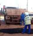 Suop continua com o programa de tapa buracos em Porto Velho