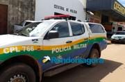 Mulher é presa após agredir ambulante e policial militar