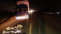 Motociclista morre ao bater em caminhão na BR-364