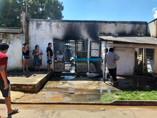 Incêndio destrói casa na Zona Sul de Porto Velho