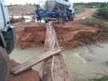 Sedam e Ibama avaliam impactos causados por rompimento de barragem em Machadinho
