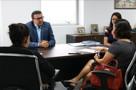 Deputado Alex Silva recebe promotora para discutir pauta sobre audiência pública sobre violência contra a mulher