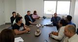 Edesio Fernandes reúne presidentes de bairro com deputado Alex Silva