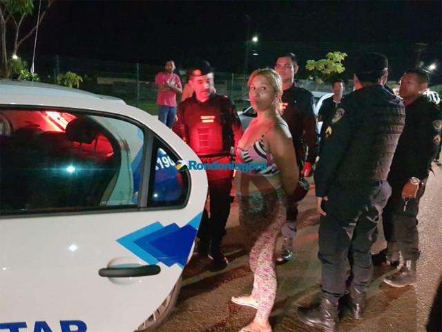 Monitorada por tornozeleira é presa após furtar carro a mando de namorado presidiário para pagar dívida