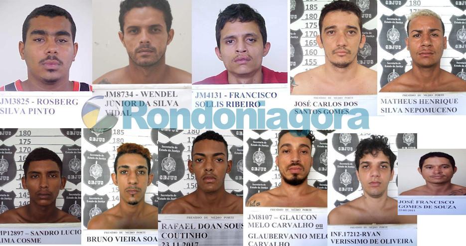 Onze presos fogem do Panda e já são quase 40 fugitivos na rua em 48 horas