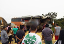 Três pessoas morrem e mais 4 ficam feridas em acidente entre carreta e ônibus que saiu de Porto Velho