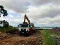 Parte da Estrada do Belmont será recuperada com rochas da época da construção da Usina Santo Antônio