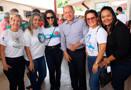 Deputado Coronel Chrisóstomo acompanha ação social na escola Joaquim Vicente Rondon