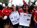 Escola na Capital realiza atividades para alertar estudantes contra o bullying e a violência