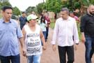 Deputado Alex Silva visita bairros de Porto Velho, constata precariedade e faz compromissos