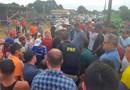 Manifestantes radicalizam e mantém bloqueio em Extrema há mais de 27 horas