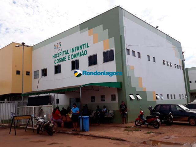 Cinco crianças ainda seguem internadas em Porto Velho com suspeita de H1N1