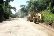 Força-tarefa do DER inicia trabalho de recuperação da RO-460