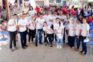 Alex Silva apoia ação social no bairro Nacional