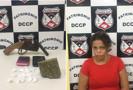 Mulher é presa com drogas e arma no Orgulho do Madeira, em Porto Velho