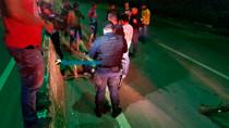 Bandido tenta roubar agente penitenciário com a arma de brinquedo e é baleado com três tiros