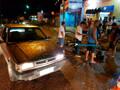Sargento da PM fica com fratura exposta, após grave acidente na Capital