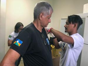 Presidiários são vacinados contra gripe H1N1 em Rondônia