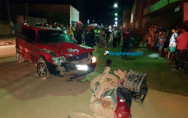 Entregador de água morre ao colidir de frente com carro na Zona Leste da Capital