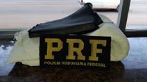 PRF prende passageira de ônibus com 4 quilos de cocaína