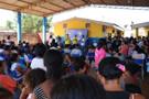 Ação social é realizada pelo vereador Edesio Fernandes nas comunidades Planalto I e II.