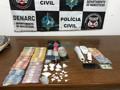 Denarc apreende dois com drogas e mais de R$ 4 mil em dinheiro, em Porto Velho