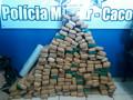 PM e Civil apreendem quase 150kg de maconha em Cacoal