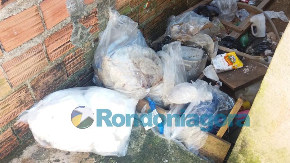 Vídeo: Polícia e Semagric encontram quase uma tonelada de carne estragada em fábrica de charque