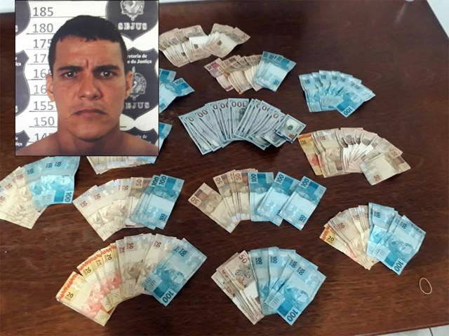Foragido é preso quando preparava fuga para a Bolívia
