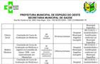 Prefeitura de Espigão do Oeste seleciona seis profissionais de nível superior com salário de R$ 3.310,51