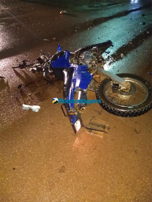 Mais um motociclista morre ao bater de frente com carro durante ultrapassagem em Porto Velho
