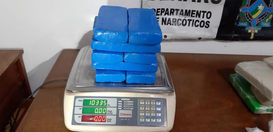 Operações simultâneas do Denarc apreendem mais de 18 quilos de cocaína