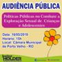 Audiência pública debate políticas públicas no combate à exploração sexual de crianças e adolescentes