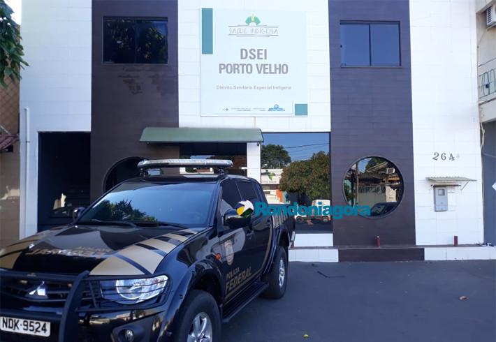 Operação da PF combate desvio de recursos públicos no Distrito Sanitário Indígena de Porto Velho