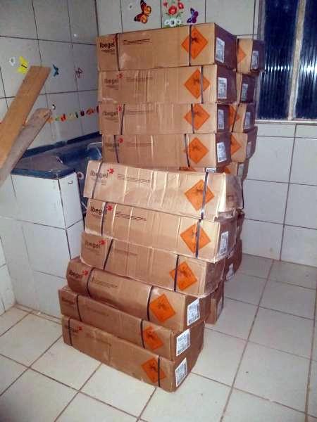 Polícia Civil apreende cerca de 2,5 toneladas de explosivos em empresa de construção civil na Capital