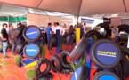 Pneus com tecnologia LSW pela primeira vez em Rondônia no stand da Pemaza