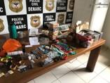 DJ é preso pelo Denarc após desembarcar com drogas no Aeroporto de Porto Velho