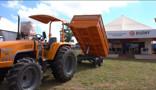 Budny apresenta nova secadora de grãos e transplantadeira de mudas para na Rondônia Rural Show