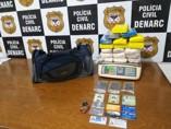 Polícia Civil apreende cerca de 20 kg de drogas após intensa perseguição na BR-364