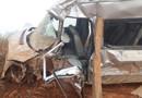 Van que transportava alunos para jogos escolares em Ariquemes colide com caminhão na RO-457 e deixa feridos