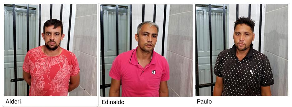 Três são presos no Detran tentando liberar caminhonete apreendida com procuração falsa