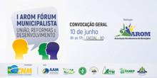 Cacoal sedia encontro de prefeitos e vereadores para discutir reforma da previdência e unificação das eleições