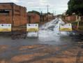 Prefeitura inicia asfalto em ruas do Bairro Cohab, na Zona Sul