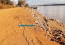 Estrada do Belmont volta a apresentar rachaduras em trecho onde foi construído muro de contenção