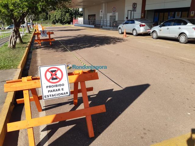 Infraero proíbe estacionamento em frente ao aeroporto da Capital; ideia é instalar ciclovia