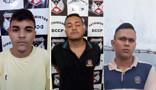 Presos por assalto em agências bancárias e comparsa são investigados por tráfico de drogas na Zona Leste